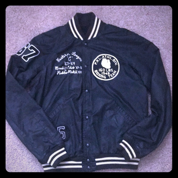 Ralph Lauren Club Jacket Polo Boxing mnvN8O0w